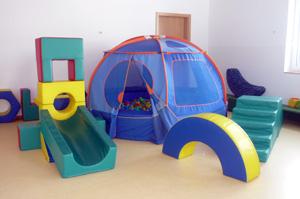 Kindergarten Ulrichstein - der Bewegungsraum