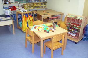 Kindergarten Ulrichstein - der Kreativraum